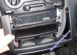 как установить бортовой компьютер на ланос