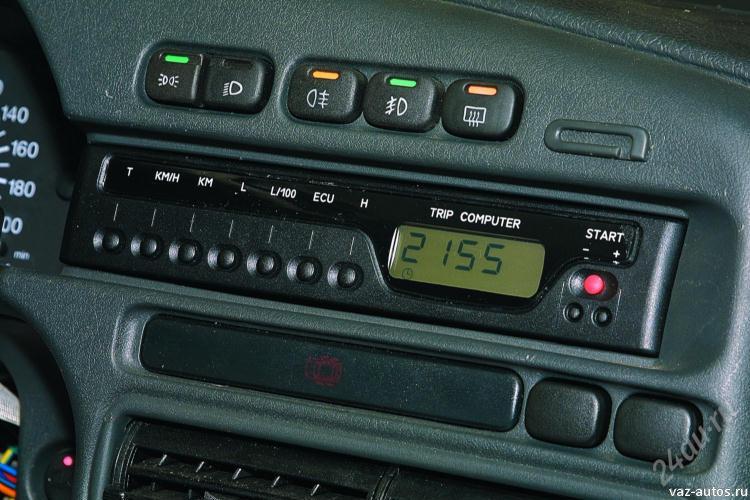 Настройка бортового компьютера для ВАЗ 2115