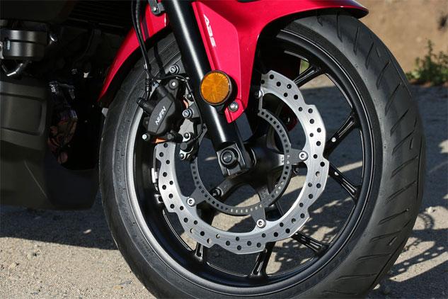 ABS для мотоцикла