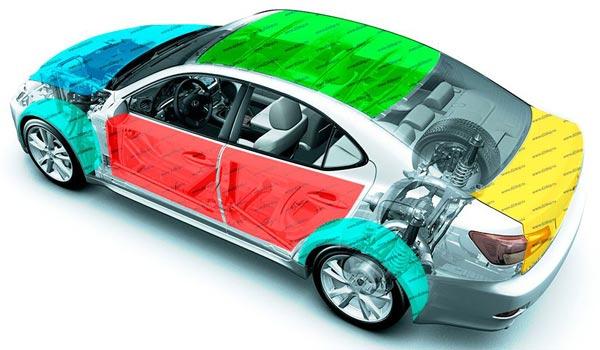Сеть студий шумоизоляции автомобилей Анти-Шум